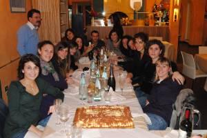 Tutte insieme per festeggiare i migliri auguri per un buon 2010